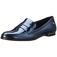 Calvin Klein Womens Celia Patent Slip On Penny Loafers