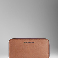 London Leather Travel Wallet