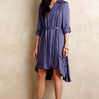 Vanessa Virginia Liet Shirtdress in Navy Size: