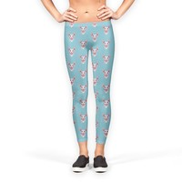Sphynx cat head pattern Leggings by Savousepate from €37.00   miPic