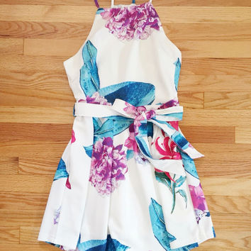 Floral Fit and Flair Dress