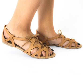Island Hop Sandals in Tan