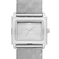 Dkny Ladies' Stainless Steel Watch with Mesh Strap