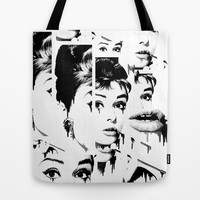 Crushed Tote Bag by Kristy Patterson Design