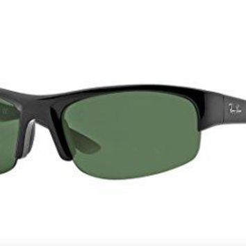 Ray-Ban RB4173 - 601/71 Sunglasses Black w/ Green Classic Lens 62mm
