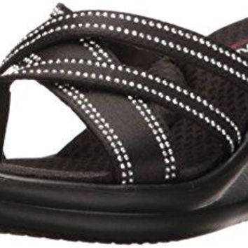 Skechers Womens RumblersYoung At Heart Wedge Sandal