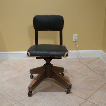 Awesome 1947 Industrial B.L. Marble Correct Posture Chair