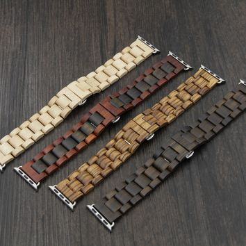 HAVERN Minimalist Wooden Apple Watch Band - Series 1 and 2 Wood Band