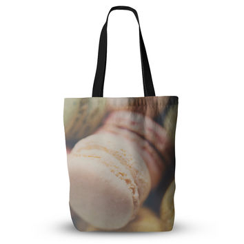 "Laura Evans ""Macaroon Goodness"" Pastel Food Everything Tote Bag"