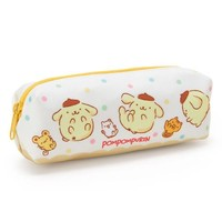 Pom Pom Purin Pen Case Pencil Pouch Dot 2017 Sanrio Japan - VeryGoods.JP