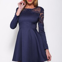 Titanium Dress Navy