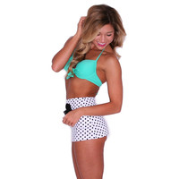 Polka Dot Pretty Swimsuit Set