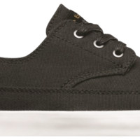 Romero Troubadour Low, Black White « Footwear « Emerica: Made In Emerica