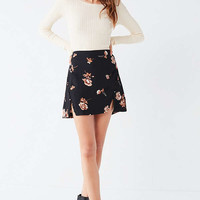 Capulet Ida Button Notch Mini Skirt | Urban Outfitters