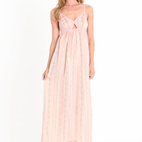 Nothing But Trouble Cutout Maxi - $34.50 : ThreadSence, Women's Indie & Bohemian Clothing, Dresses, & Accessories