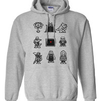 Undertale Characters This is your soul Hoodie Hooded Sweatshirt