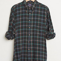 Retro Gold Vintage Plaid Woven Shirt at PacSun.com