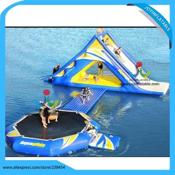 High Quality Inflatable Water Park Inflatable Aqua Park Inflatable Floating Water Sports/ Inflatable Water Adult Sport For Sale