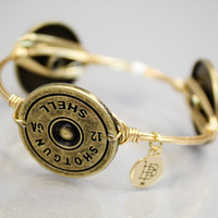 Bourbon And Boweties - Shotgun Shell Bangle