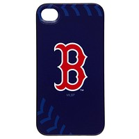 Boston Red Sox - Logo Stitch iPhone 4/4S Thinshield Snap-On Case