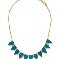 Faux Stone Statement Necklace | Forever 21 - 1000176478