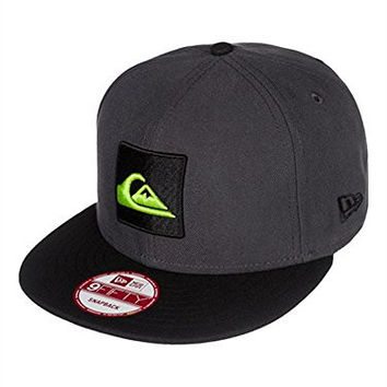 Quiksilver Men's Make Trucker Hat, Tarmac, One Size