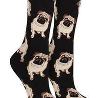 Puffins on the Rocks Socks | Womens