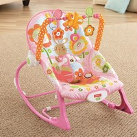 Infant to Toddler Rocker Pink Bunny 336187191 | Baby Bouncers | Baby Gear | Burlington Coat Factory