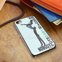 Dirty Dancing Quotes - for iPhone 4/4s, iPhone 5/5S/5C, Samsung S3 i9300, Samsung S4 i9500 Hard Case *ojoturuwaecok*