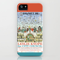 Leslie Knope for City Council - Parks and Recreation Dept. iPhone Case by Jasey Crowl | Society6