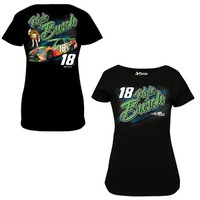 Women's Kyle Busch Chase Authentics Black Fabricator T-Shirt
