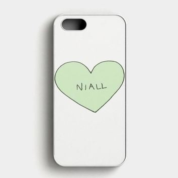 Niall Horan Heart Tshirt iPhone SE Case