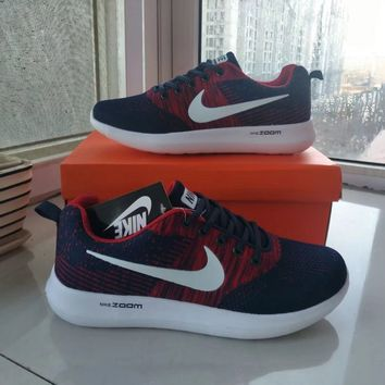 """""""Nike"""" Olympic Games Men Sport Casual Multicolor Flyknit Running Shoes Sneakers"""