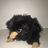 Universal Studios The Crimes of Grindelwald Baby Black Niffler Plush New w Tag