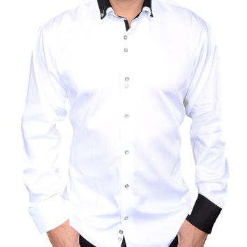De Marcus shirts - White Tux - Luxury collection