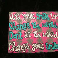 Canvas Quote Painting