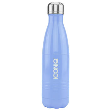 ICONIQ 17oz Periwinkle Water Bottle - Stainless Steel Vacuum Insulated