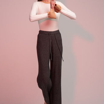 Knit Drawstring Pants
