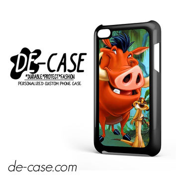 Timon And Pumba DEAL-11255 Apple Phonecase Cover For Ipod Touch 4