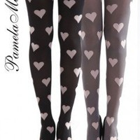 Pamela Mann Big Heart Tights - MyTights.com