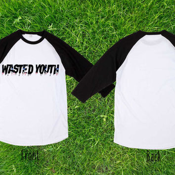 Limited wasted youth nebula Baseball T shirt, Raglan T shirt, Unisex T shirt, Adult T shirt