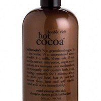 Philosophy Double Rich Hot Cocoa 3-in-1 Shampoo, Shower Gel & Bubble Bath - 24 oz