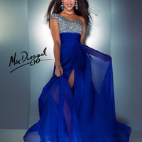 Mac Duggal 64407 Royal 10