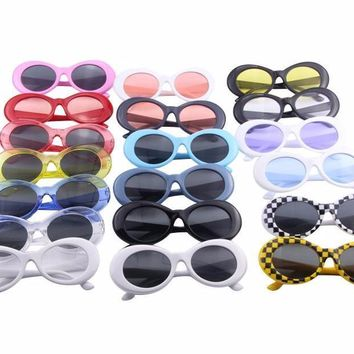 Clear Oval Frames