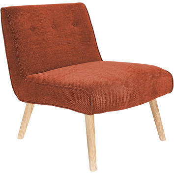 Vintage Neo Accent Chair, Orange