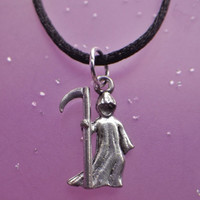 Grim Reaper Death necklace