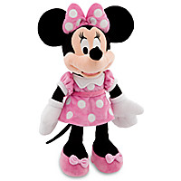 Minnie Mouse Plush - Pink - Medium - 19''