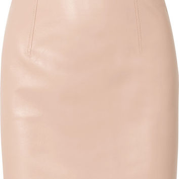BLOUSE - Hell Raiser leather mini skirt