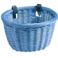 Sunlite Mini Willow Bushel Basket - Blue