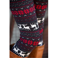christmas deer reindeer pattern leggings for girls ladies gothic tayt fitness getry w renifery leggings sexy fall outfits